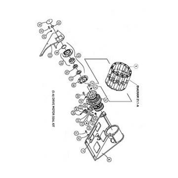 ASV 0700-302 Reman Hydraulic Final Drive Motor